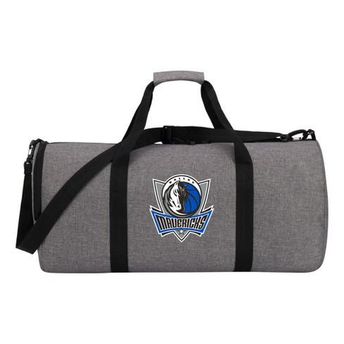 NBA Dallas Mavericks Gray Barrel Duffel Bag - image 1 of 4