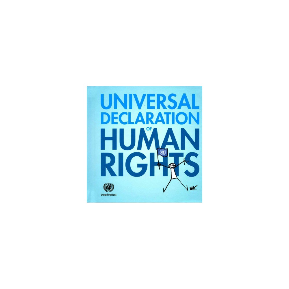 Universal Declaration of Human Rights (Illustrated) (Hardcover)