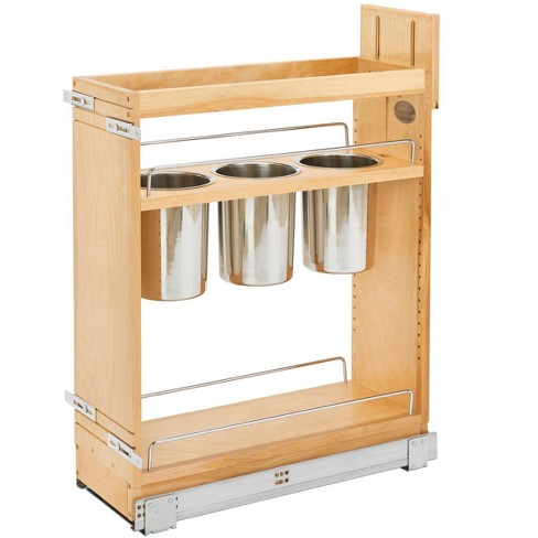 Rev A Shelf 448ut Bcsc 8c Series, 8 Inch Kitchen Cabinet