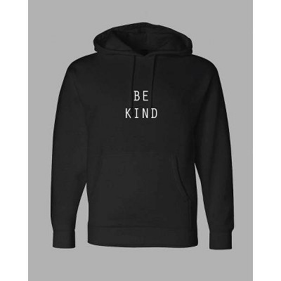 PH by The PHLUID Project Gender Inclusive Be Kind Hooded Sweatshirt - Black