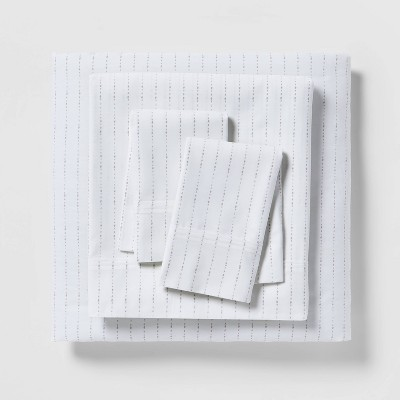 300 Thread Count Organic Cotton Printed Sheet Set - Threshold™