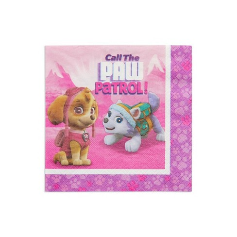 PAW Patrol 48ct Lunch Napkins Pink - image 1 of 3