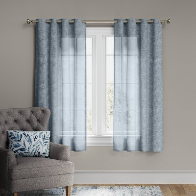 Textured Weave Light Filtering Curtain Panel - Threshold™