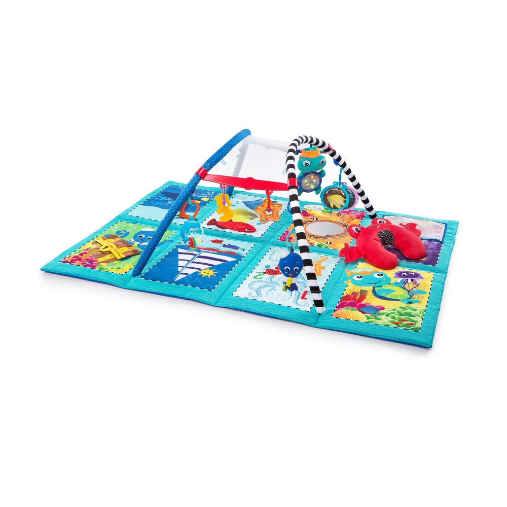 Baby Einstein Discovery Seas Multi Mode Gym, Multi-Colored