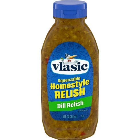 Vlasic Homestyle Dill Relish Squeeze Bottle - 9oz - image 1 of 3