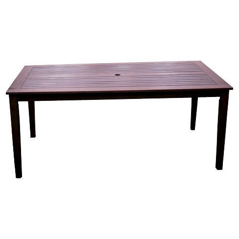 Patio Dining Table - Brown - Cambridge Casual - image 1 of 4