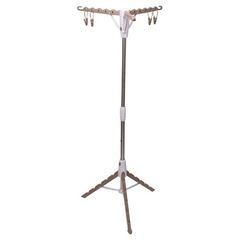 Household Essentials Standing Tripod Clothes Dryer - Tan - image 1 of 4