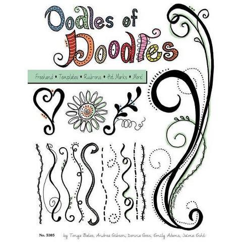 Oodles of Doodles - (Design Originals) (Paperback) - image 1 of 1