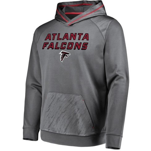 on sale d65d7 ccd9f Atlanta Falcons Men's Geo Fuse Gray Embossed Performance Hoodie S