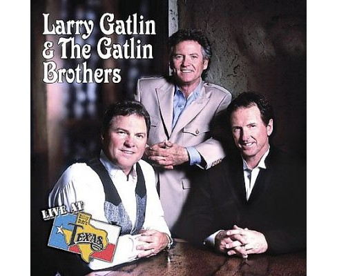Larry Gatlin - Live At Billy Bob's Texas Le (CD) - image 1 of 1