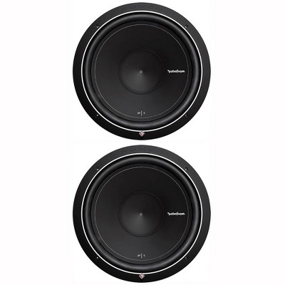 """Pair Of 2 Rockford Fosgate Punch P1 15"""" 1000W 4-Ohm SVC Subwoofers 