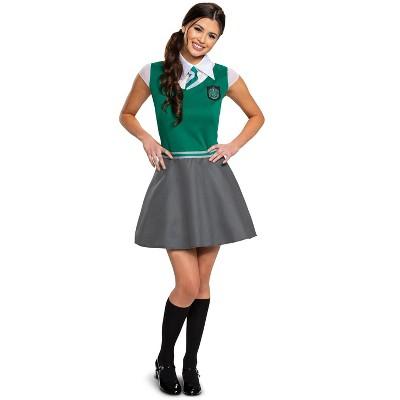 Harry Potter Slytherin Dress Tween/Adult Costume