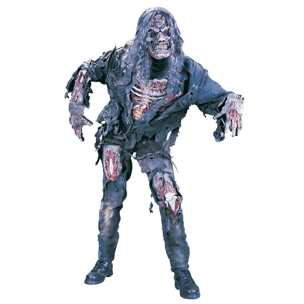 Image of Halloween Kids' Complete 3D Zombie Costume X-Large 14-16, Men's