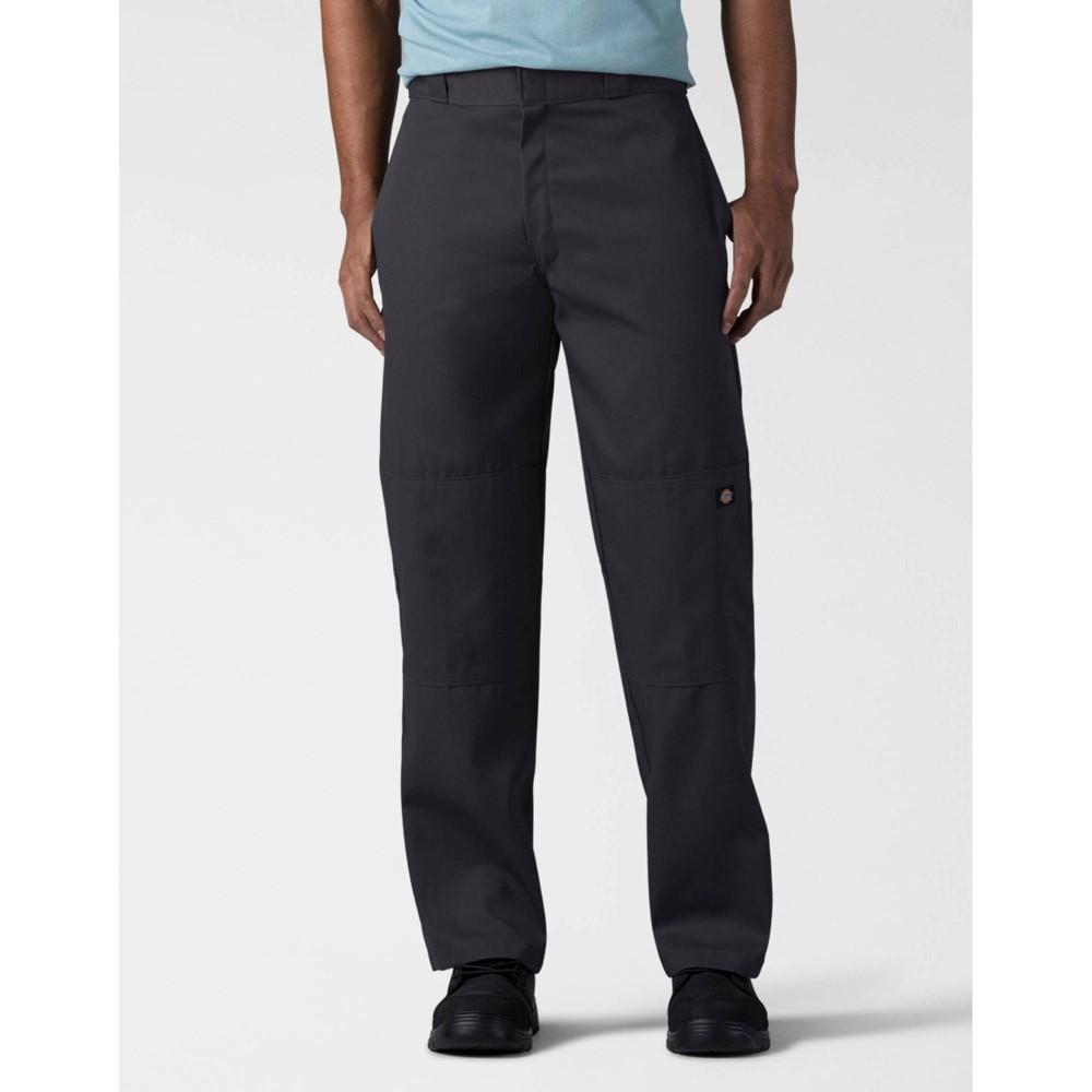 Dickies Men 39 S Loose Fit Double Knee Work Pants Black 28x30