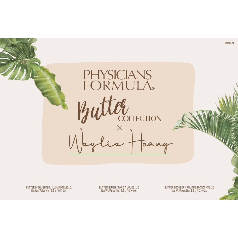Physicians Formula X Weylie Butter Collection Palette 0 57oz