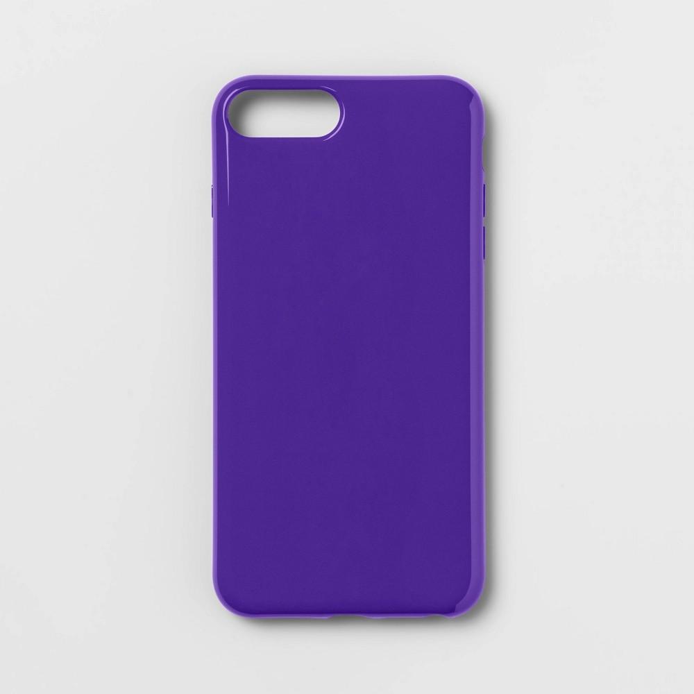heyday Apple iPhone 8 Plus/7 Plus/6s Plus/6 Plus Hi Shine Case - Purple