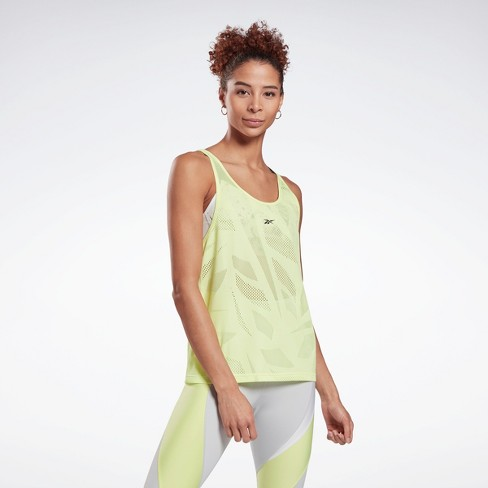 Reebok Perforated Tank Top Womens Athletic Tank Tops - image 1 of 4