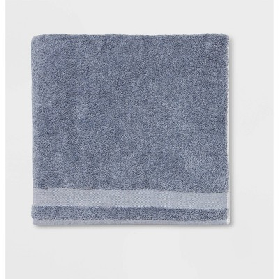 Solid Bath Sheet Blue - Made By Design™
