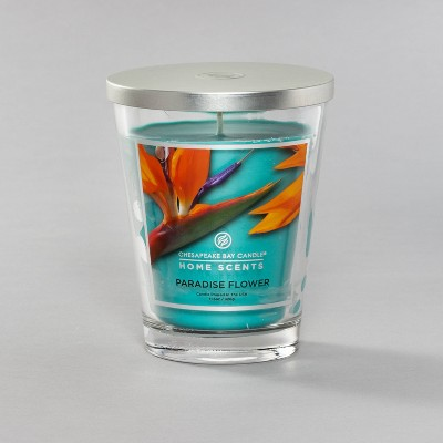 Glass Jar Paradise Flower Candle - Home Scents by Chesapeake Bay Candle