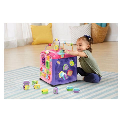 Vtech Ultimate Alphabet Activity Cube Pink