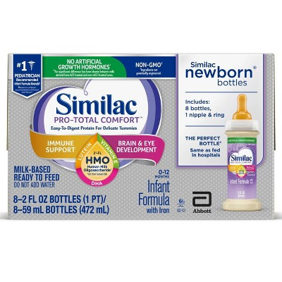 Similac Pro-Total Comfort Formula - 8ct/2 fl oz Each