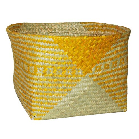 "Decorative Palm Leaf Basket 10.83""x17.7"" - Opalhouse™ - image 1 of 1"