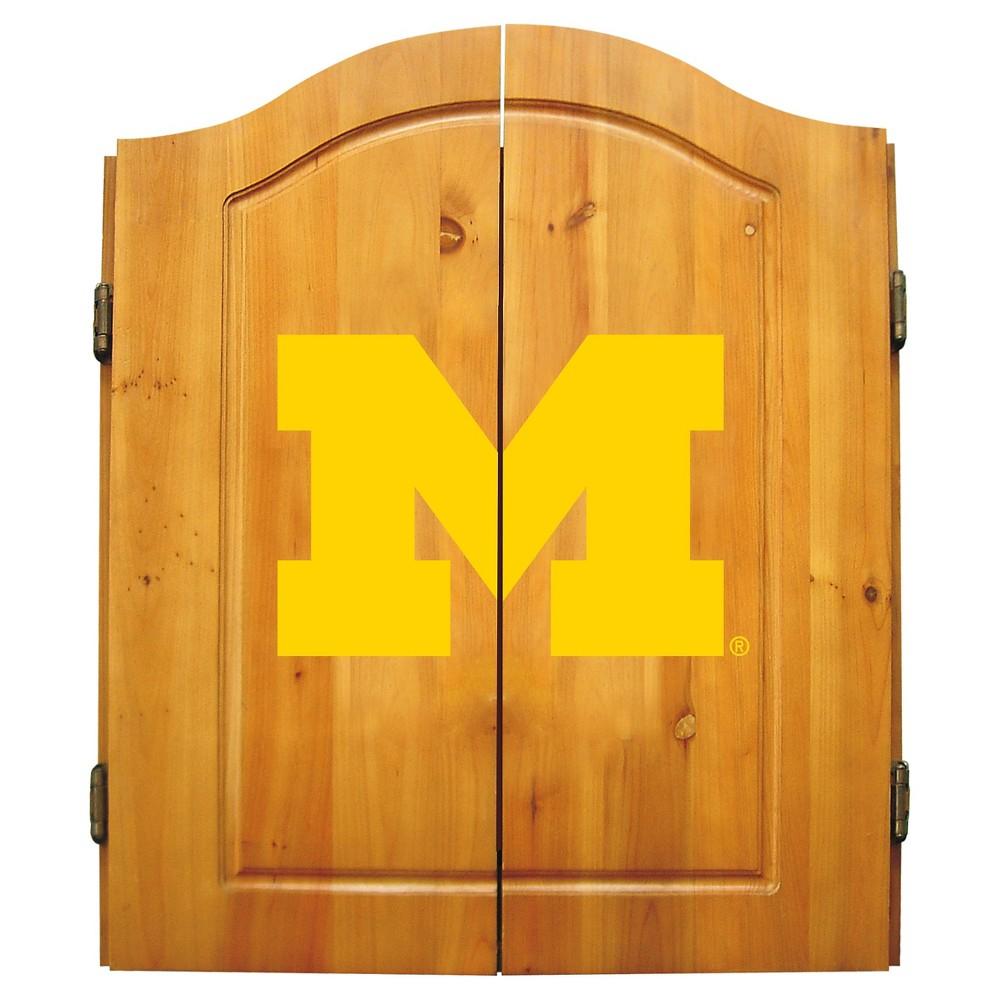 Michigan Wolverines Imperial Dart Board
