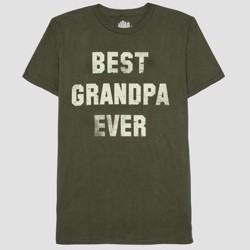 394f39bb Well Worn Men's Father's Day Best Grandpa Ever Short Sleeve T-Shirt ...