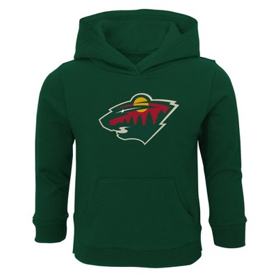 NHL Minnesota Wild Toddler Boys' Poly Core Hoodie - 2T