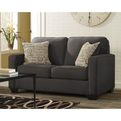 Alenya Loveseat   Charcoal   Signature Design By Ashley : Target