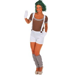 Orion Costumes Chocolate Worker Oompa Loompa Women's Costume