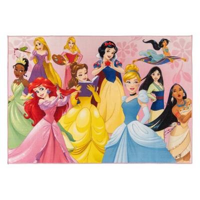 5'x7' Disney Princess Area Rug
