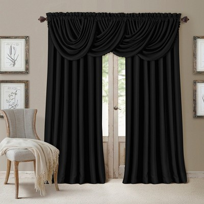 All Seasons Blackout Window Curtain Panel - Elrene Home Fashions