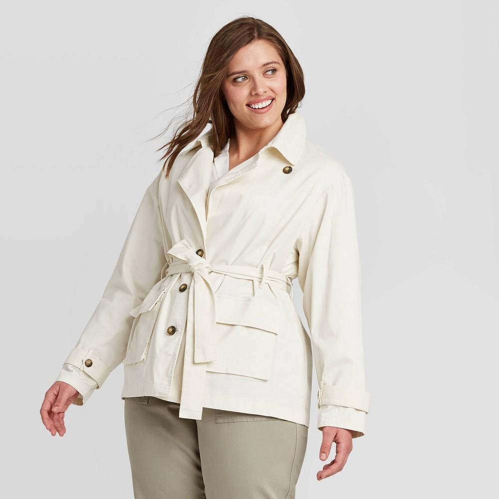 70s Jackets, Furs, Vests, Ponchos Women39s Plus Size Long Sleeve Blazer Utility Jacket - Ava 38 Viv8482 $27.99 AT vintagedancer.com