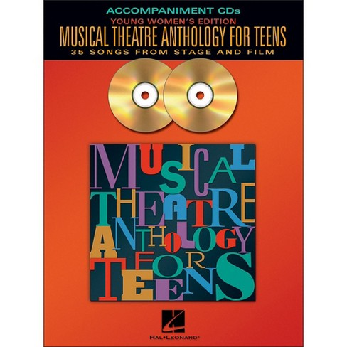 Hal Leonard Musical Theatre Anthology for Teens - Young Women's Edition  2CD Accompaniment - image 1 of 1