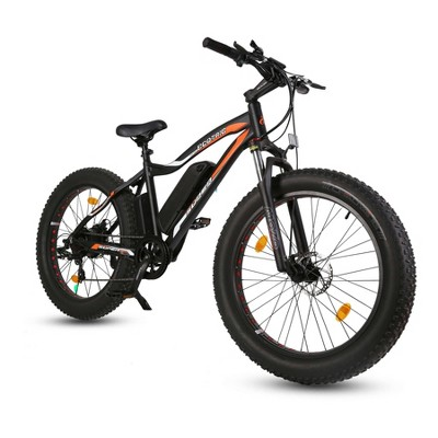 "Ecotric Rocket 26"" Electric Cruiser Bike - Matte Black"