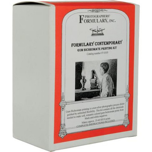 Photographers' Formulary Gum Bichromate Printing Kit, Contemporary Kit with Red, Blue and Yellow Pigment, Makes 50 8x10 Prints - image 1 of 2