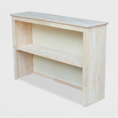 Hutch For Brooklyn Desk Unfinished - International Concepts