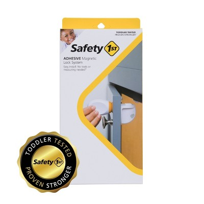 Safety 1st Adhesive Magnetic Lock - 8L/2K