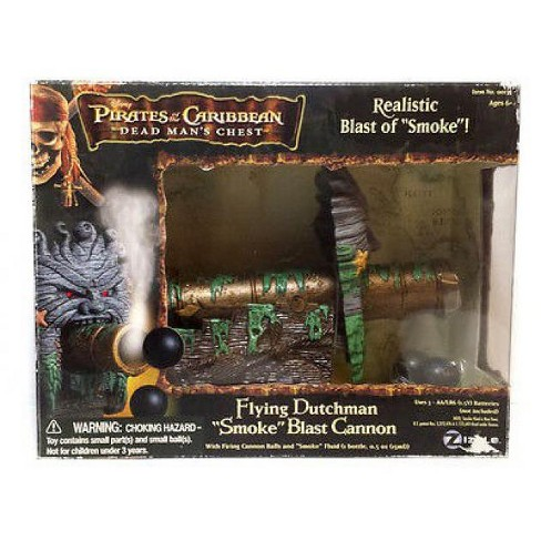 Pirates of the Caribbean Dead Man's Chest Flying Dutchman Smoke Blast Cannon Action Figure Playset - image 1 of 1
