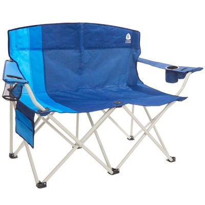 Sierra Designs Double Folding Chair - Blue