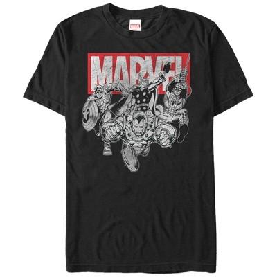 Men's Marvel Avengers Ready T-Shirt