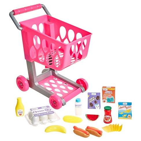 Honestly Cute Shop & Go Grocery Cart - image 1 of 6