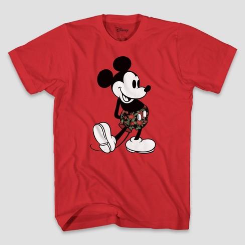 55b303b1 Men's Disney Short Sleeve Graphic T-Shirt - Red 2XL : Target