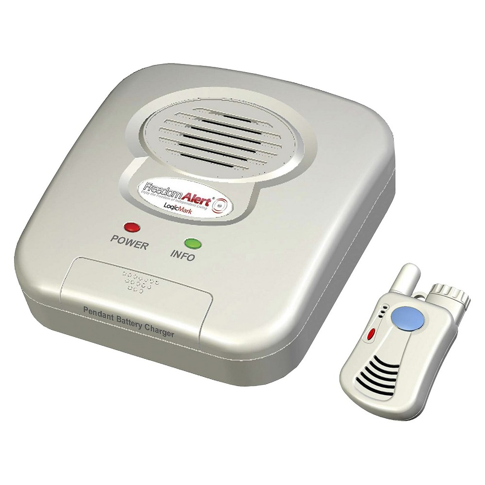 LogicMark Freedom Alert Emergency Alert System, Silver
