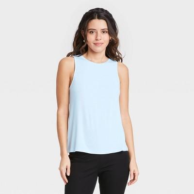 Women's Tank Top - A New Day™ Light Blue S