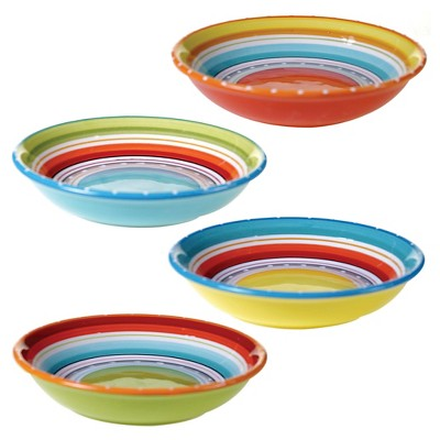 Certified International Mariachi Soup/Pasta Bowls 40oz - Set of 4