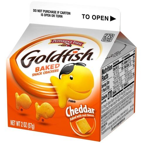 Pepperidge Farm Goldfish Cheddar Crackers - 2oz Carton - image 1 of 4