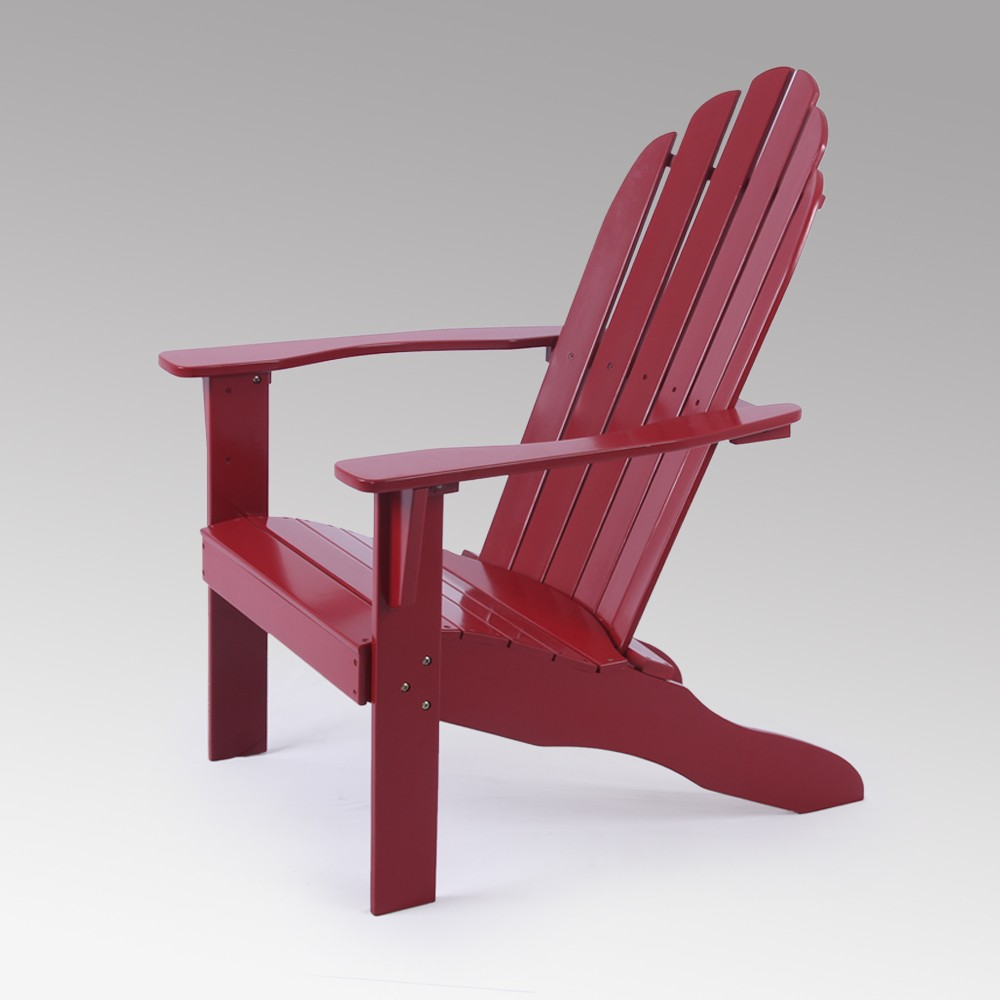 Image of Alston Adirondack Chair - Red - Cambridge Casual