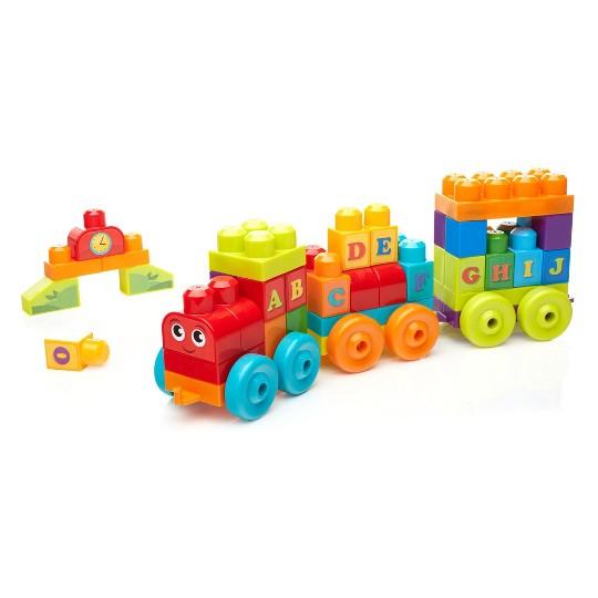 Mega Bloks Building Basics ABC Musical Train image number null